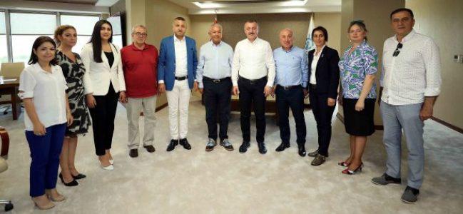 Büyükakın, CHP İl Yönetimini konuk etti