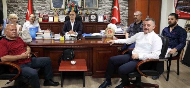 """""""AK Parti ve MHP teşkilatları olarak el birliği ile çalıştık"""""""