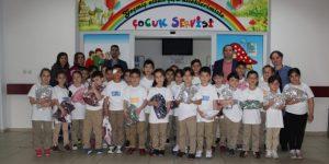Çocuklardan Çocuk Servisine Sürpriz Ziyaret
