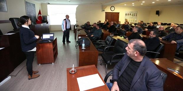 """Çayırova Belediyesinde""""İş Sağlığı ve İş GüvenliğiEğitimi"""""""
