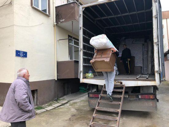 Memleketlerine geri dönmek isteyen ailelere yardım