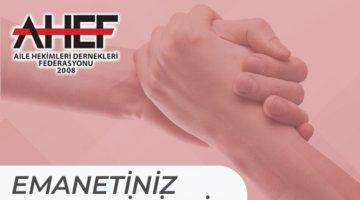 """""""Emanetiniz Emanetimizdir"""" projesine destek"""