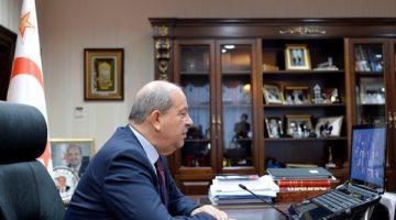 KKTC Cumhurbaşkanı Tatar KSO Toplantısında