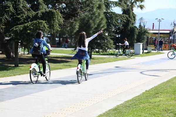 İlçeler Bisiklet Yollarıyla Birleşecek