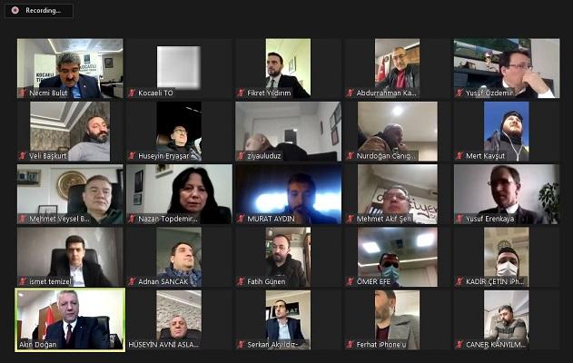 KOTO 2. Meclis toplantısı online olarak gerçekleştirdi