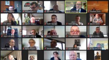 KSO Meclis toplantısı on-line olarak gerçekleştirildi