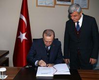 İzmit Metro projemizi Cumhurbaşkanımıza anlattık ve destek istedik.