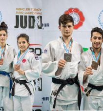 Kağıtsporlu Judocular, gençlerde Türkiye üçüncüsü