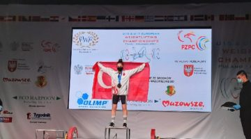 Ceren Avrupa şampiyonu