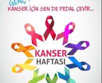 Kanserle mücadele için pedal çevir