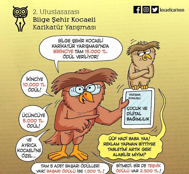 Karikatür Yarışmasında son başvuru 2 Nisan