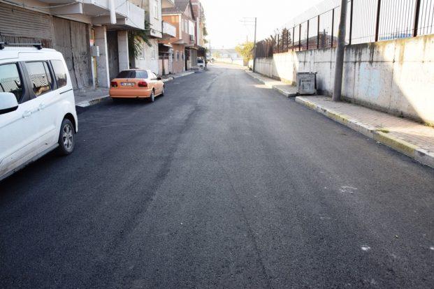 İlçe genelinde asfalt çalışmaları sürüyor