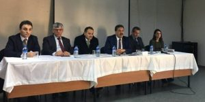 Mimar Sinan'da Halk Toplantısı
