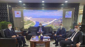 Gündoğdu DSİ Genel Müdürü Yıldız ile görüştü