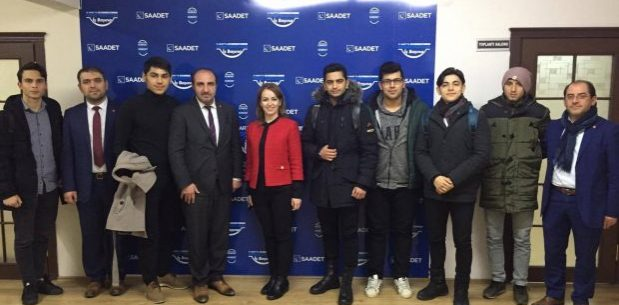 Gençler Çetinkaya'ya 'Sorunlarını ve çözüm önerilerini sundu'