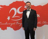 """""""Cumhuriyet Bayramını en içten duygularımla kutluyorum"""""""