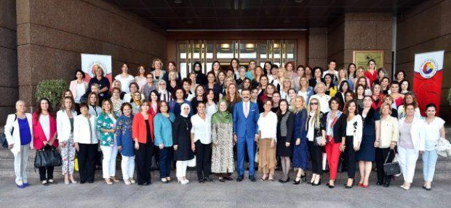 Kocaeli Kadın Girişimciler'den Bakan Pekcan'a Tebrik Ziyareti