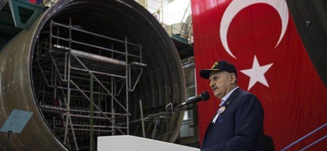Muratreis Denizaltısına ilk kaynak Başbakan Yıldırım'dan