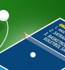 Büyükşehir,  Masa Tenisi Şampiyonası düzenliyor.