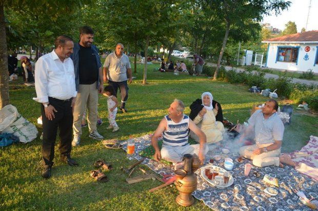 Toltar'dan Hafta Sonu Piknikçilerine Ziyaret