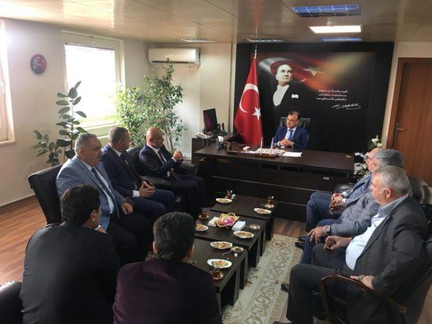 MHP Yönetiminden Kaymakam Gözen'e Ziyaret