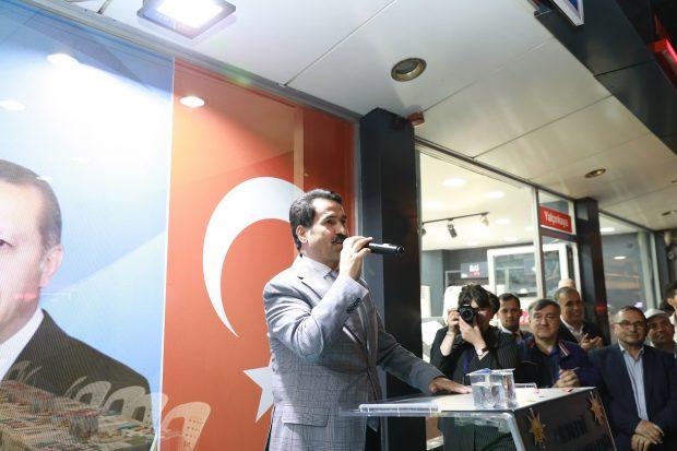 AK Parti Körfez seçim bürolarını açmaya başladı
