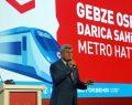 İlk metro hattı törenle tanıtıldı