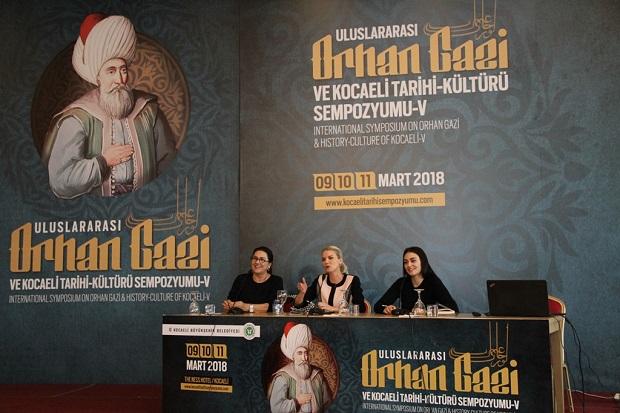 """Hayme Ana ve Halime Sultan """"Kocaeli Tarihi Sempozyumu""""na Katıldılar"""