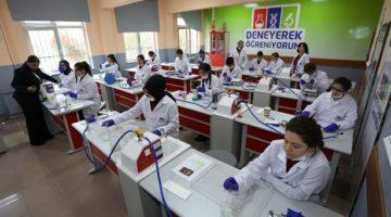 Kocaeli genelindeki 74 okula 91 laboratuvar