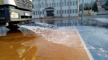Okullar koronavirüse karşı dezenfekte edildi