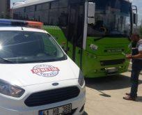 2 halk otobüsüne ceza