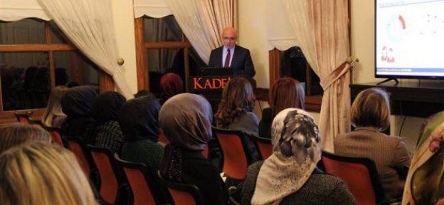 KADEM Kocaeli'de Deprem ve Afet Bilinci Eğitimi