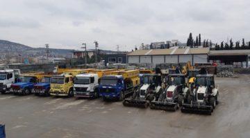 Gebze'de ekipler hazır kıta