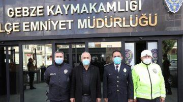 Büyükgöz'den Polis Günü Ziyareti