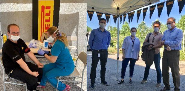 235 Pirelli çalışanı antikor testi için gönüllü oldu