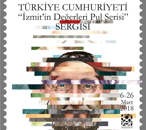 """""""İzmit'in Değerleri Pul Serisi"""" Sergisi"""
