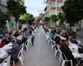 Darıca'da iftarlar Osmangazi Mahallesi ile devam etti.