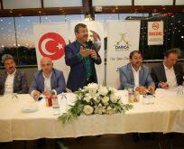 Karabacak, Ak Parti'ye destek istedi.