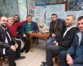 Karabacak, İstasyon esnafını ziyaret etti