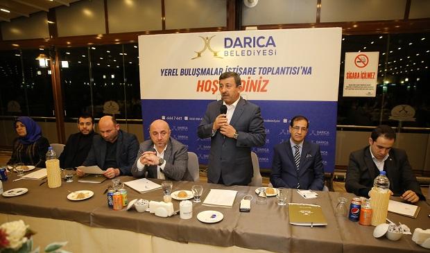Karabacak'tan STK Başkanlarına Proje Bilgilendirmesi