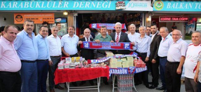 Milletvekilleri Darıca'daki hemşehrilerini yalnız bırakmadılar