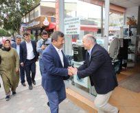 Karabacak, Osmangazi esnafını ziyaret etti