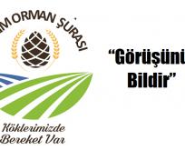 """Tarım Ve Orman Bakanlığı'ndan """"Görüşünü Bildir"""" platformu"""