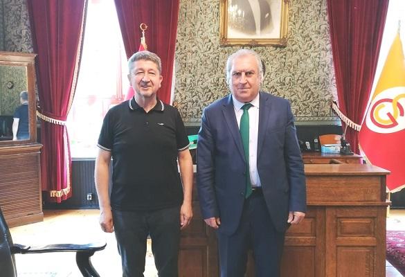 Tarihçi Şükür'den Prof.Dr Engin'e ziyaret