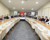 Demirci'den 5 yıllık faaliyet değerlendirme toplantısı