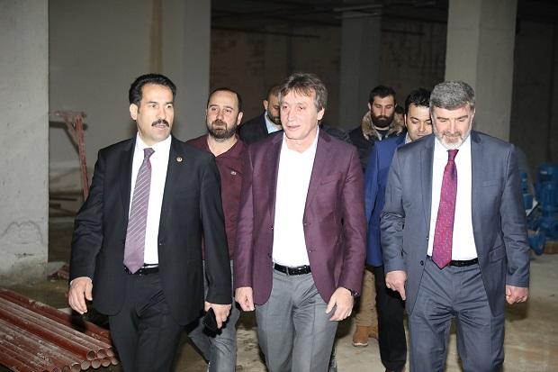 Demirci'den Milletvekilleri Yaman ve Çakır'a yatırım Turu