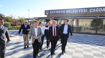 Karaosmanoğlu ve Demirci'den Yatırım Turu