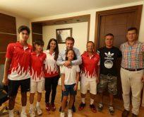 Tenis'in Şampiyonlarından Demirci'ye Ziyaret