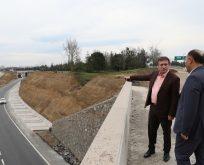 Demirci,Yenimahalle Köprülü Kavşağı Mart'ta Tamamlanacak