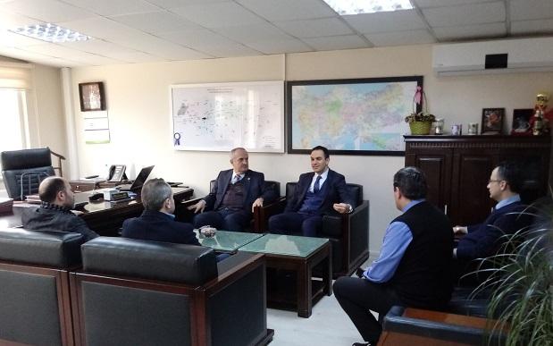 Milletvekili Aygün'e SEDAŞ'ta yeni dönem uygulamaları hakkında bilgi verdiler.